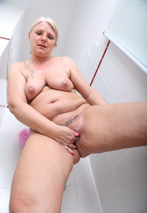 Tattooed Old Pussy