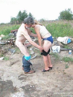 Old Pussy Undressing