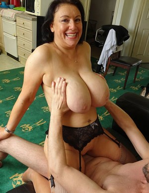 Old Tits and Pussy
